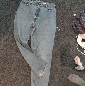 The perfect vintage distressed Levi's